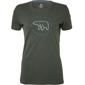 North Bend Vertical T-shirt Homme, grey asphalt